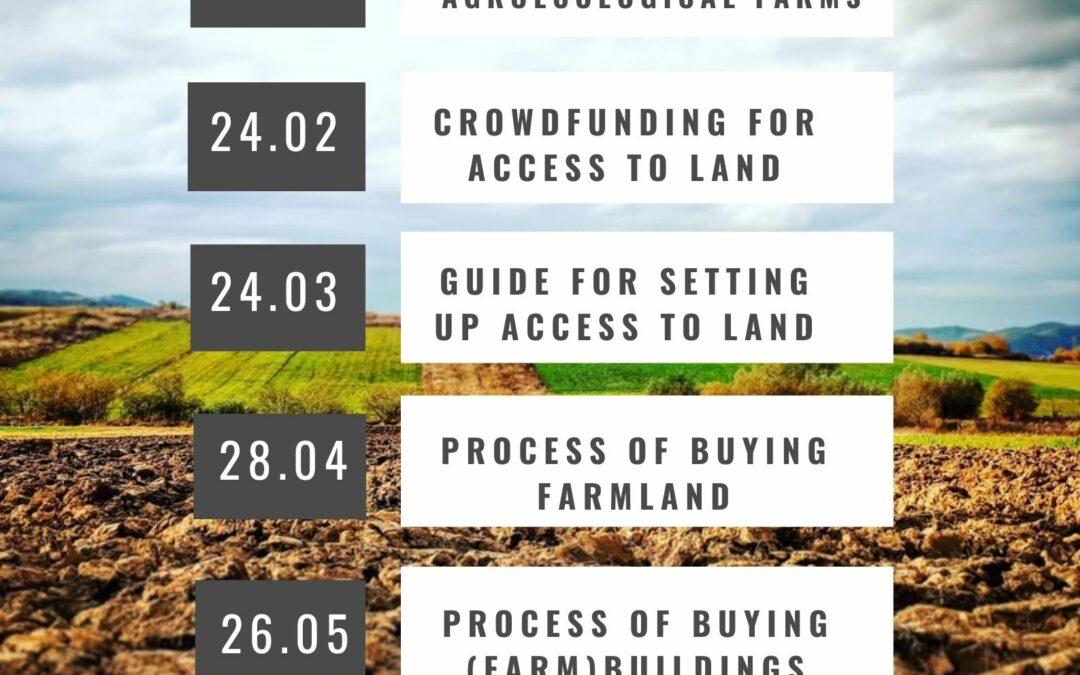 Access to Land: Půl rok stématy opřístupu kpůdě